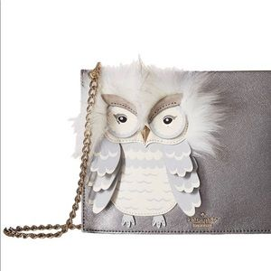 Kate Spade New York - STAR BRIGHT OWL SIMA CLUTCH